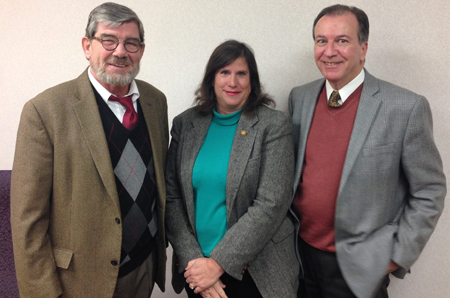 Dan Ryan, board member, Jackie Alberts, Treasurer and Frank Cirillo, Executive Director
