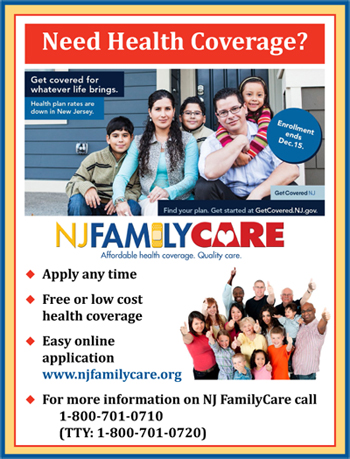 Need Health Coverage Flyer